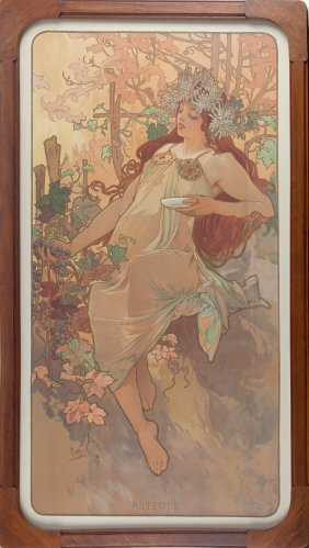 'l'automne' From The 'four Seasons', 1896