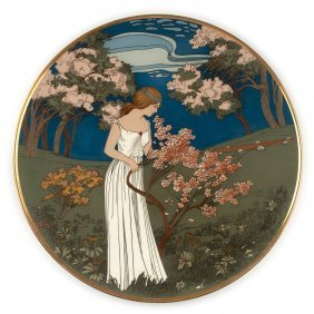 Decorative Plate, 1906