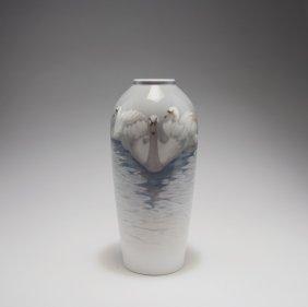 'swans' Vase, C1902