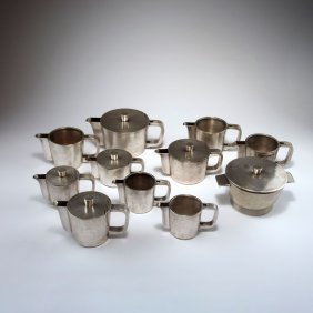 Ten Pots And A Bowl, 1936