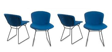 Four '420-3' side chairs, 1954