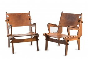 Two Armchairs, C1970