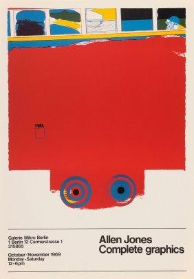 'allen Jones Complete Graphics' Poster At Galerie Mikro