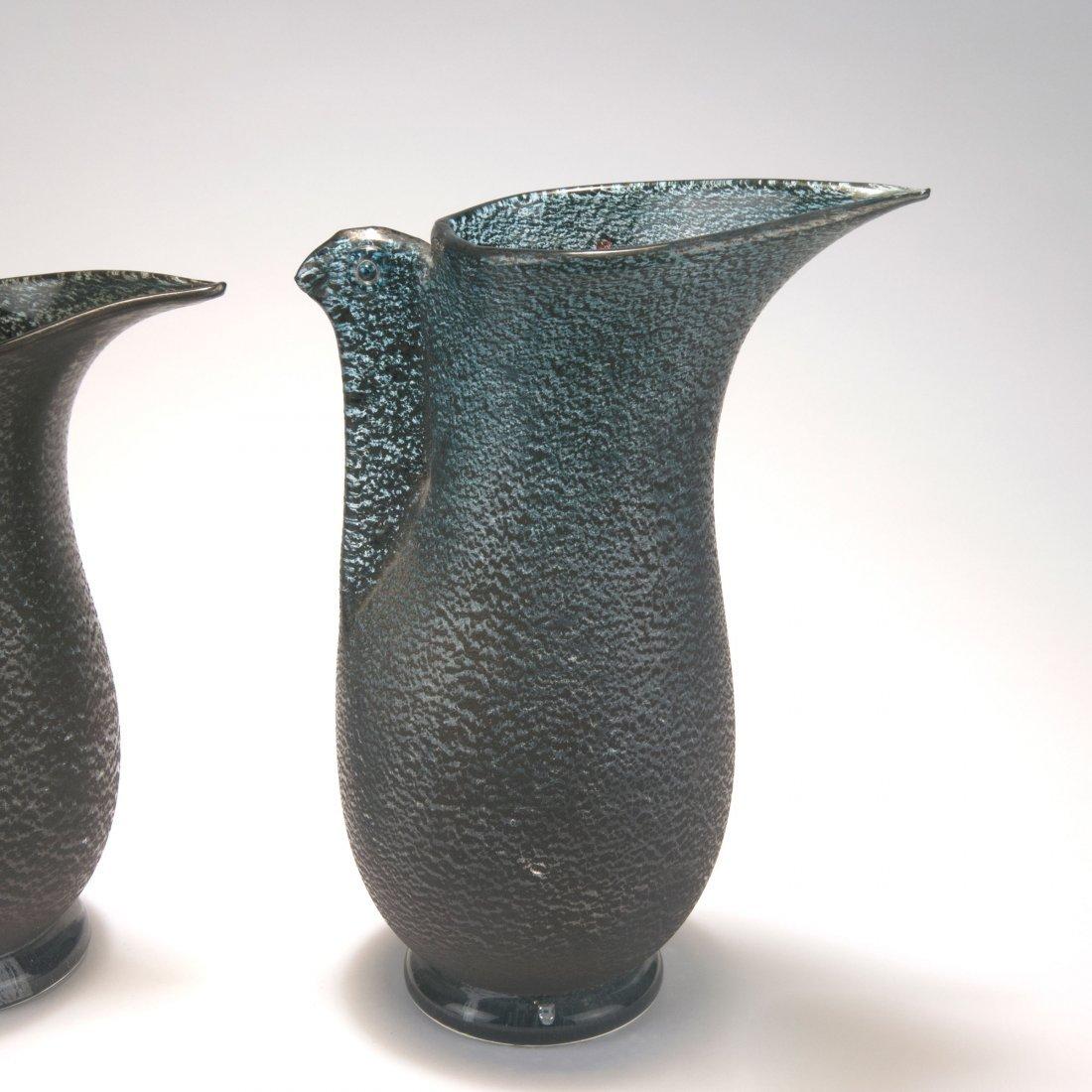 Two 'Barbarico' vases, c1951 - 2