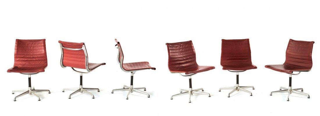Six 'Aluminium Group' armchairs, 1958
