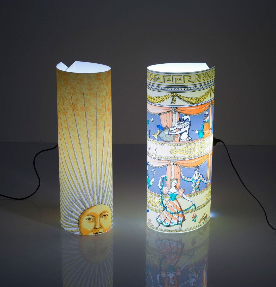 Two floor lamps, 'Sole' and 'Teatro', 1990s - 2