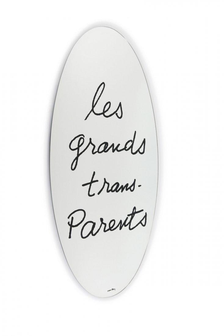 'Les Grands Trans-Parents' mirror, 1971