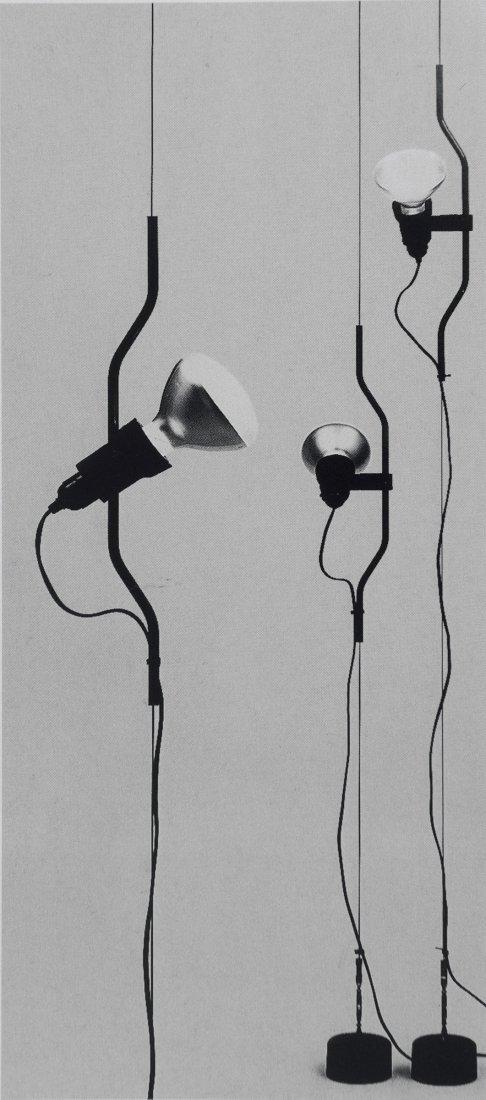 'Parentesi' floor-to-ceiling light, 1971