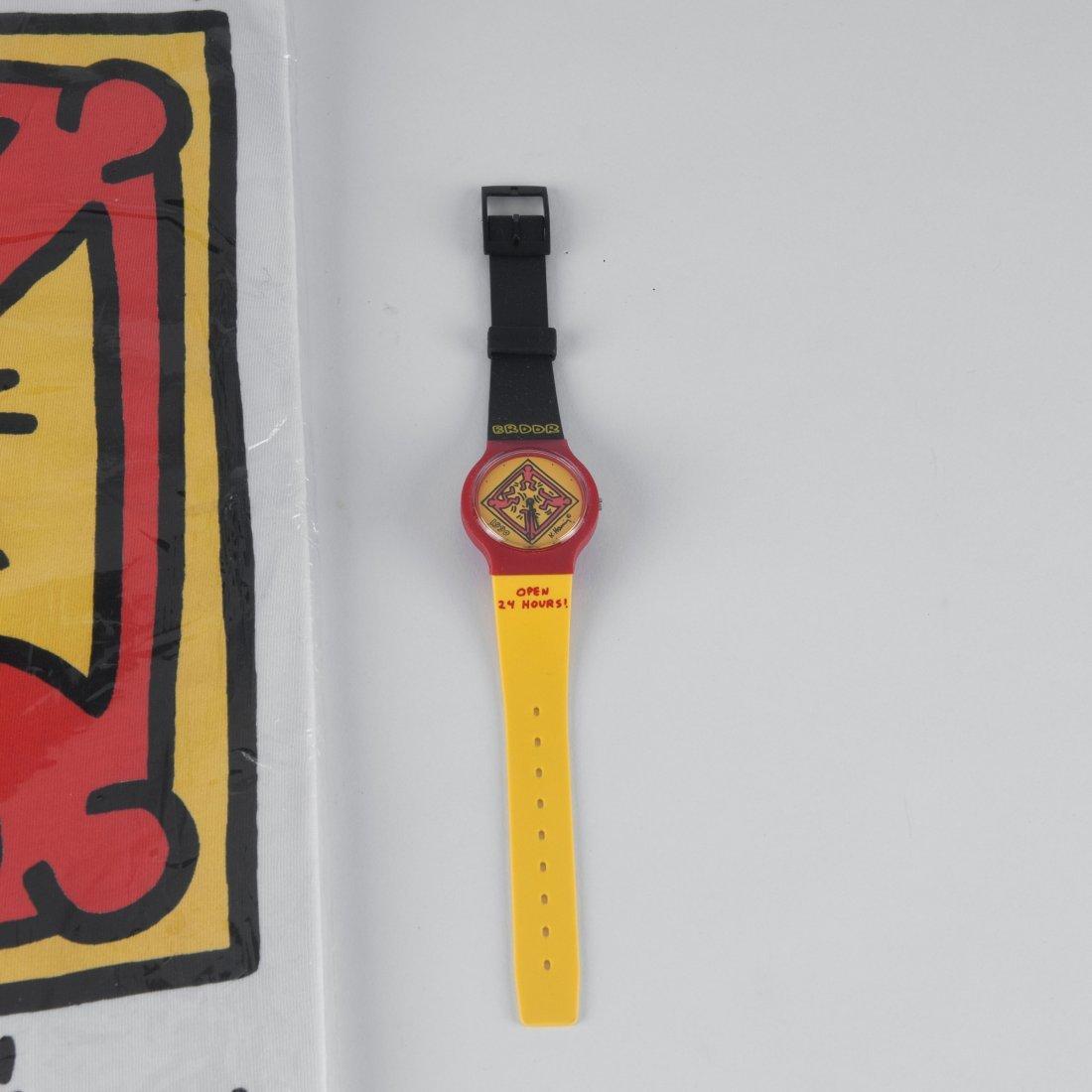 'BRDDR' watch and T shirt, 1990 - 2