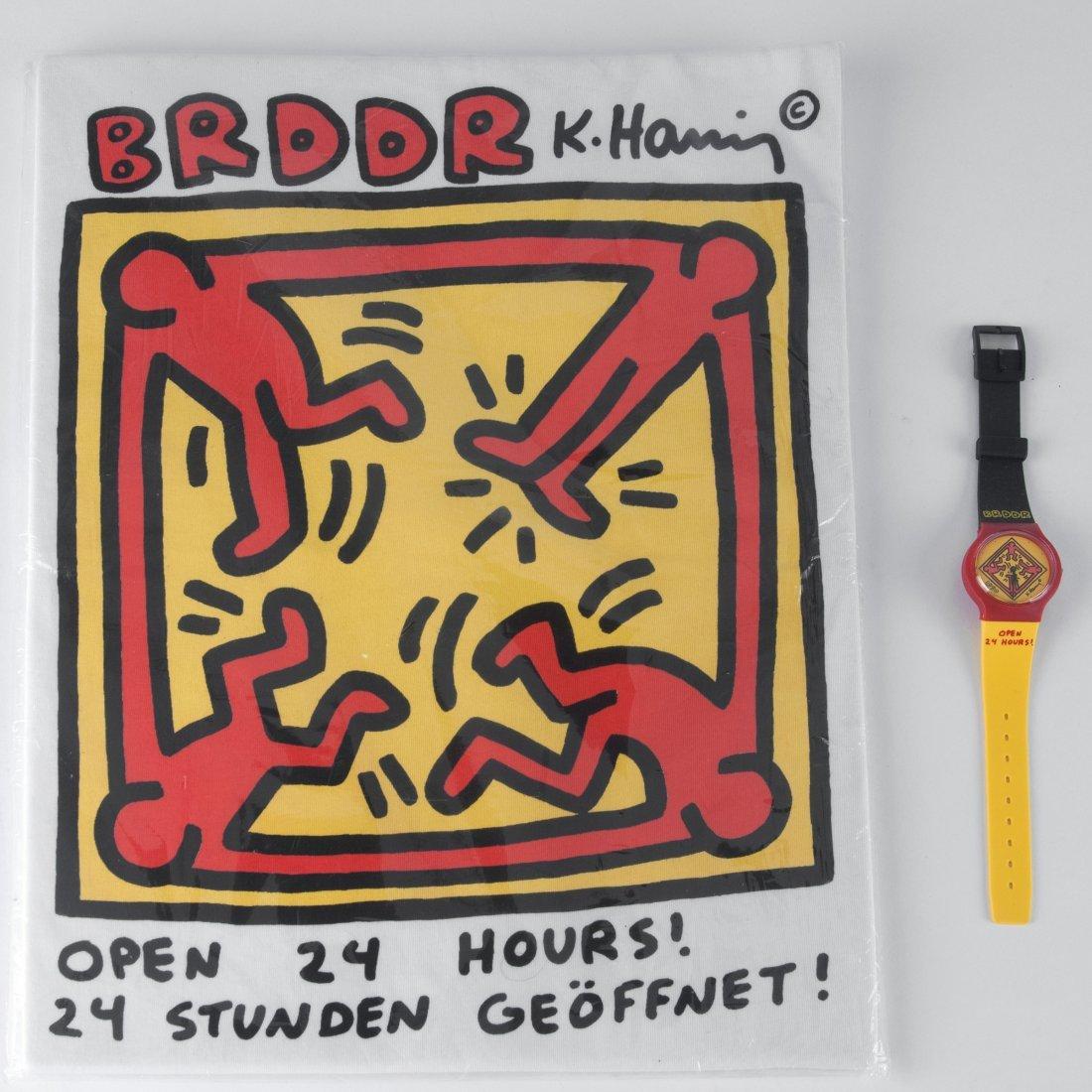 'BRDDR' watch and T shirt, 1990 - 3