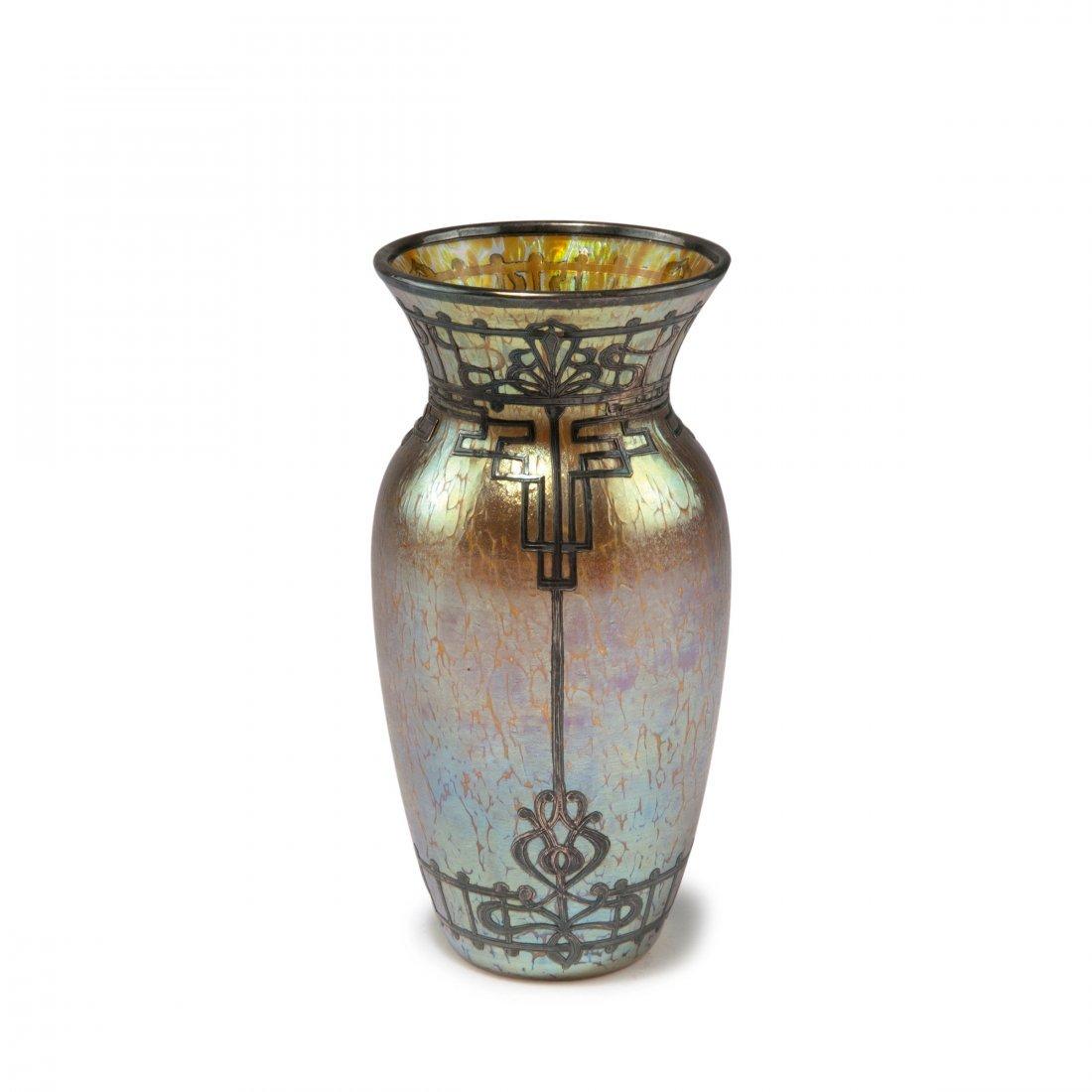 Overlay vase, c1900