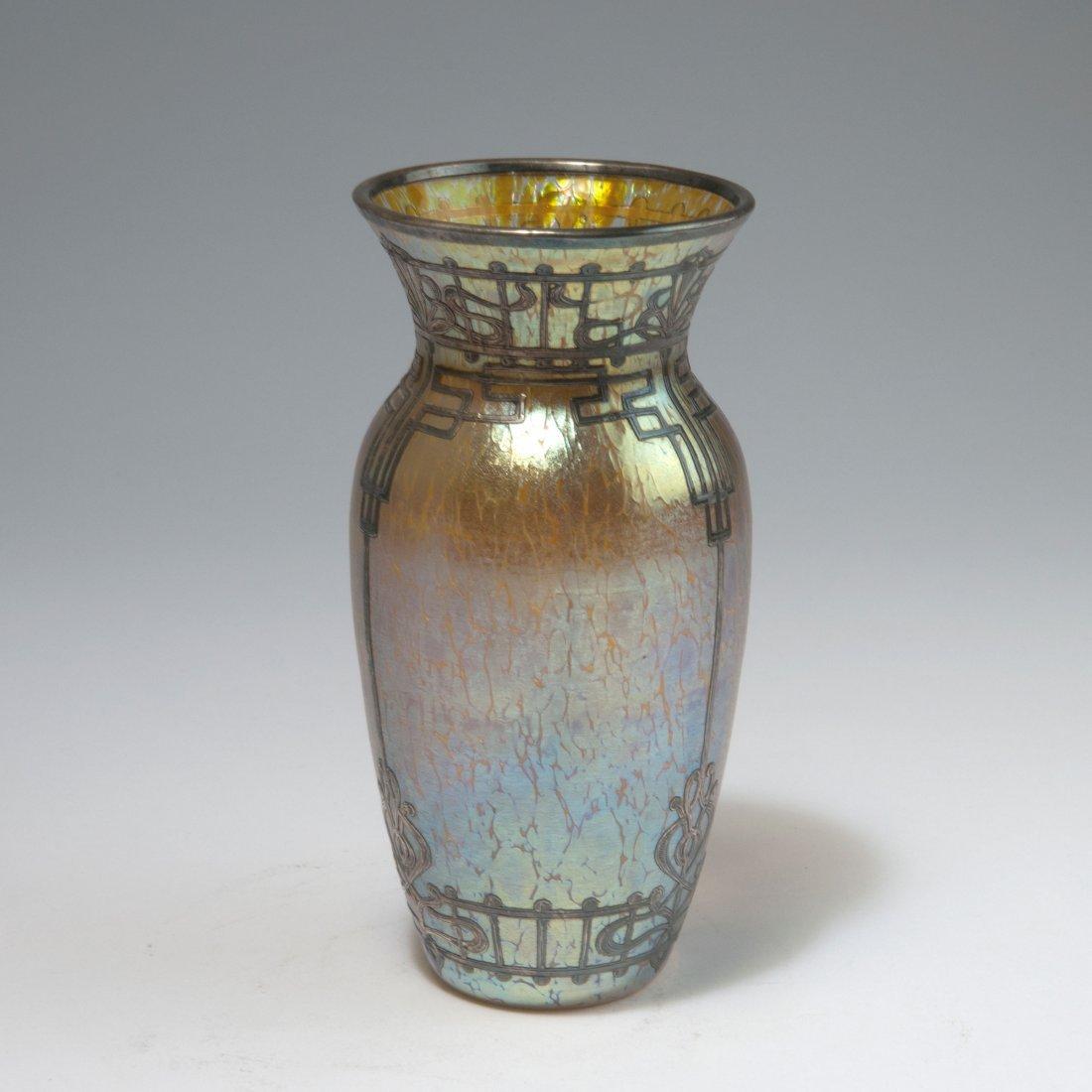 Overlay vase, c1900 - 2
