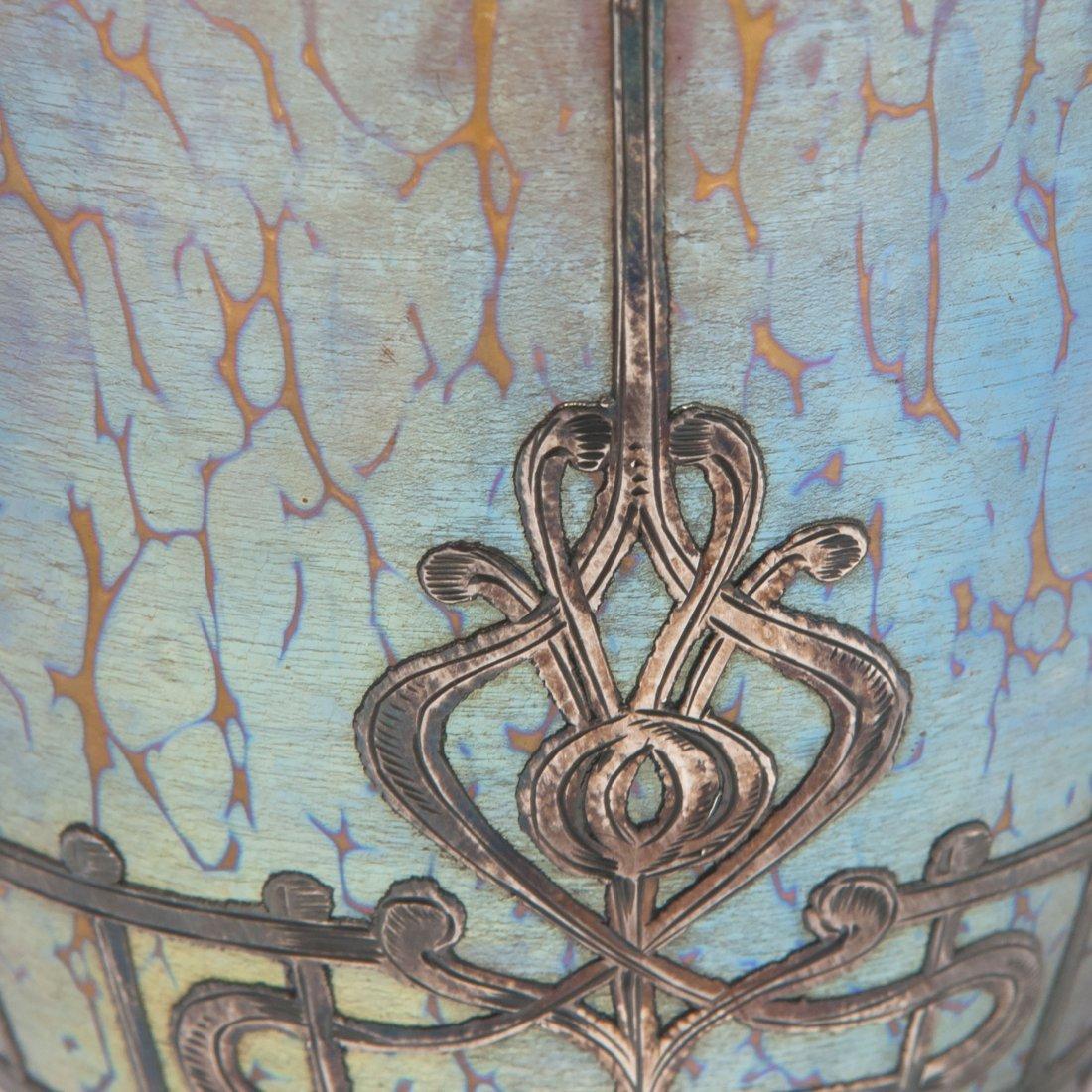 Overlay vase, c1900 - 3
