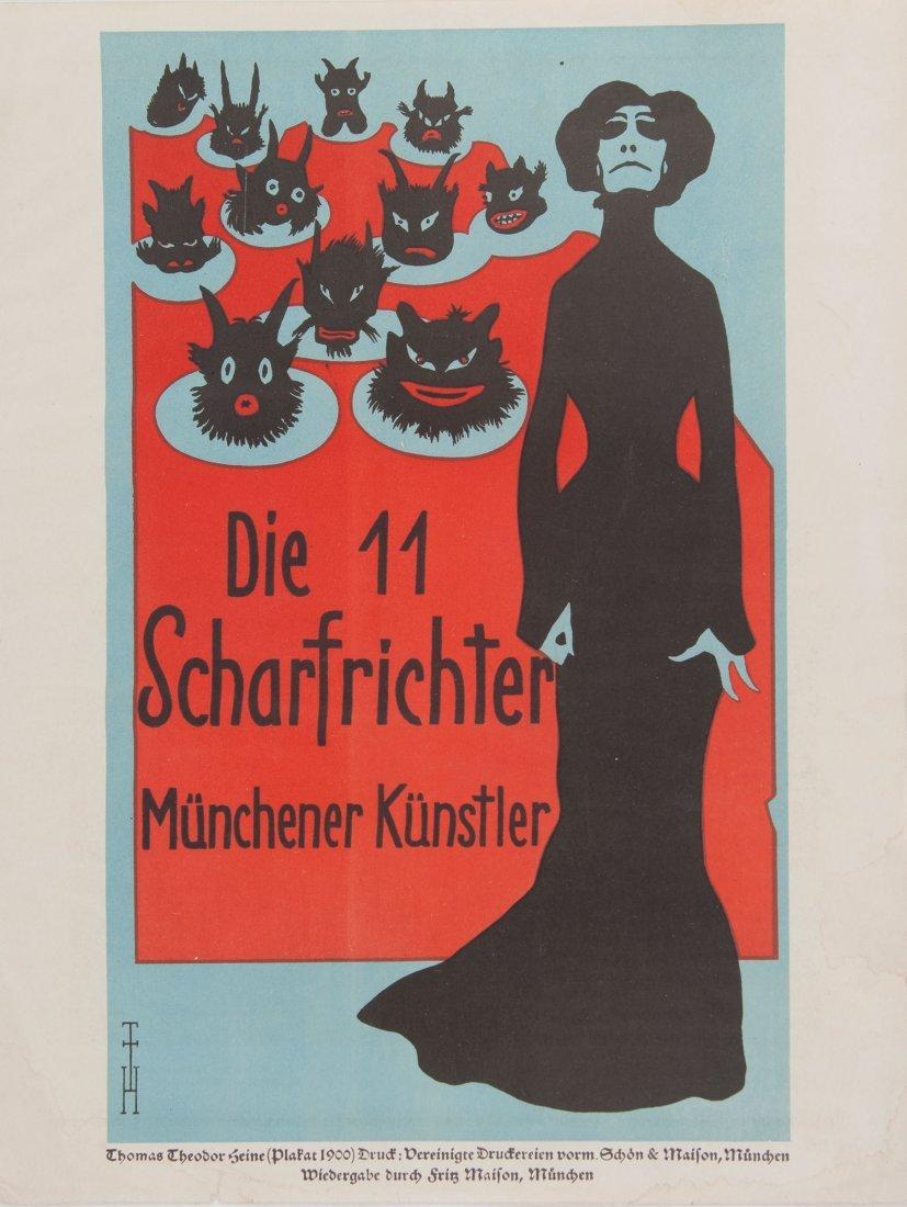 'Die 11 Scharfrichter', 1900