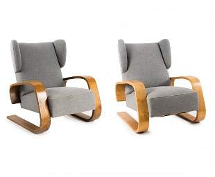 Two 'Tank' - '38' easy chairs, 1935/36