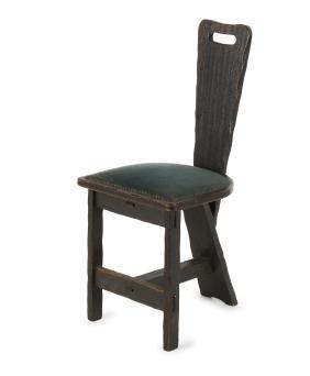 Three-legged chair, c1905