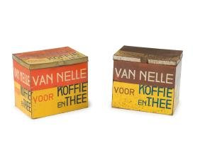 Two 'Van Nelle' containers, 1930s