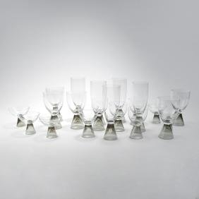 'Fortuna' glass set, 1957