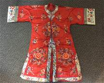 Chinese Lady's Robe,19th C.
