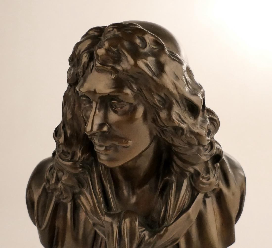 Unsigned, Molire, bronze, F. BarbŽdienne Fondeur - - 5