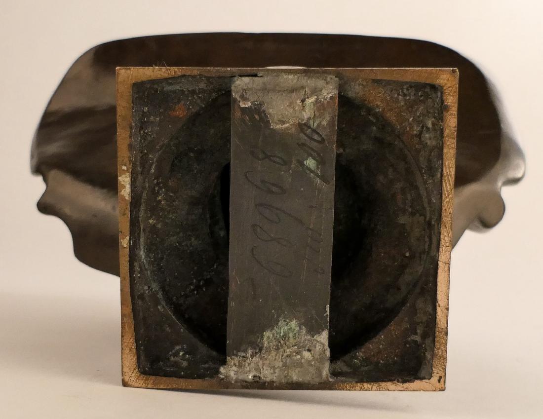 Unsigned, Molire, bronze, F. BarbŽdienne Fondeur - - 8