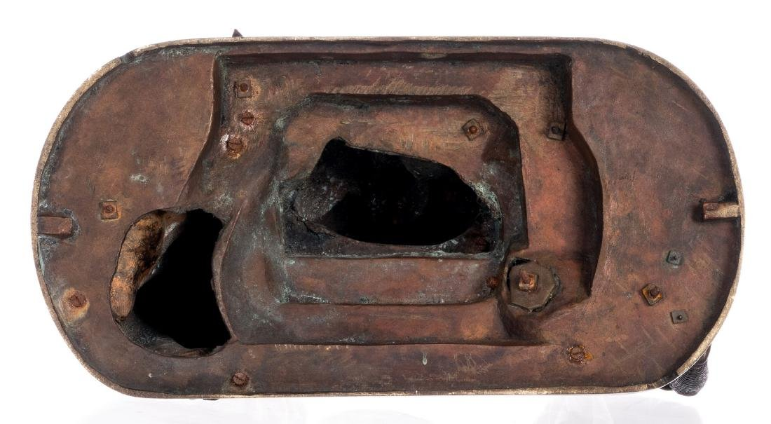 Unsigned, historicizing scene, bronze, late 19thC, H 31 - 6