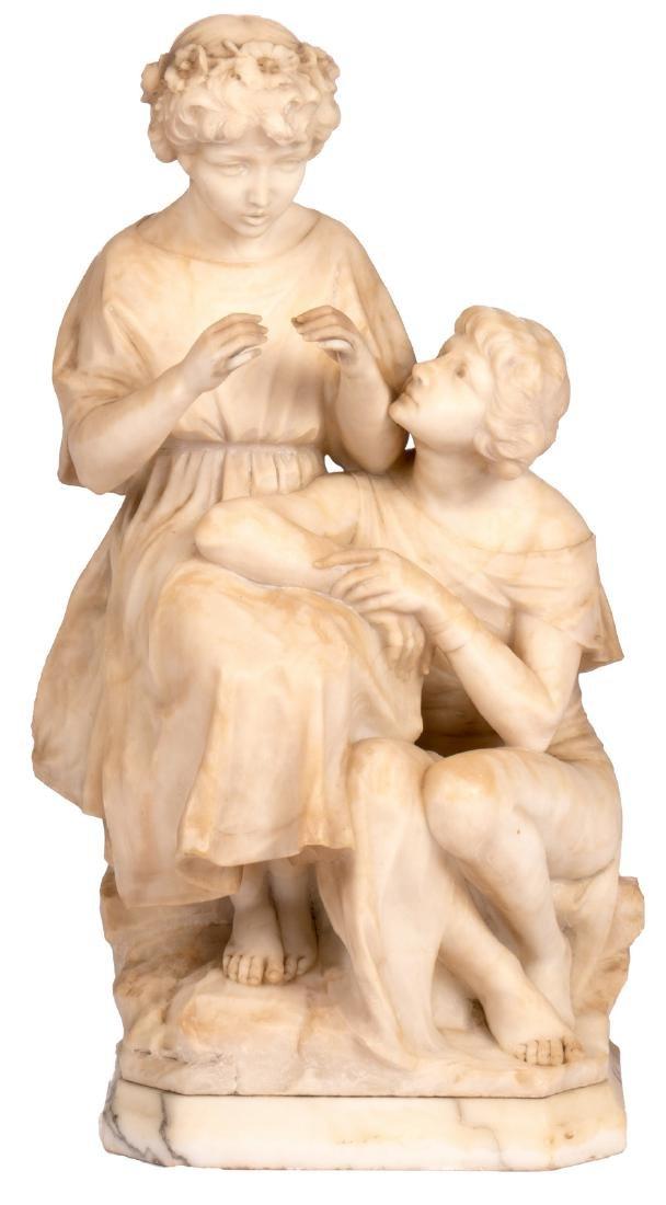 Pugi G., the musical intermezzo, Carrara marble, late