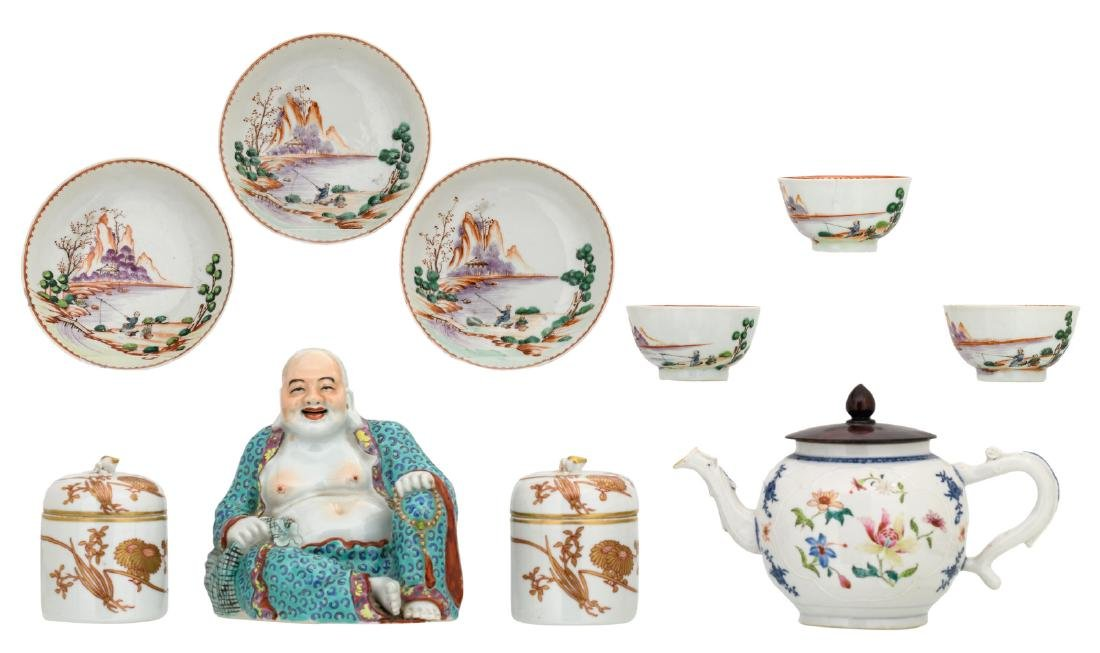 A various Chinese porcelain, included export porcelain,