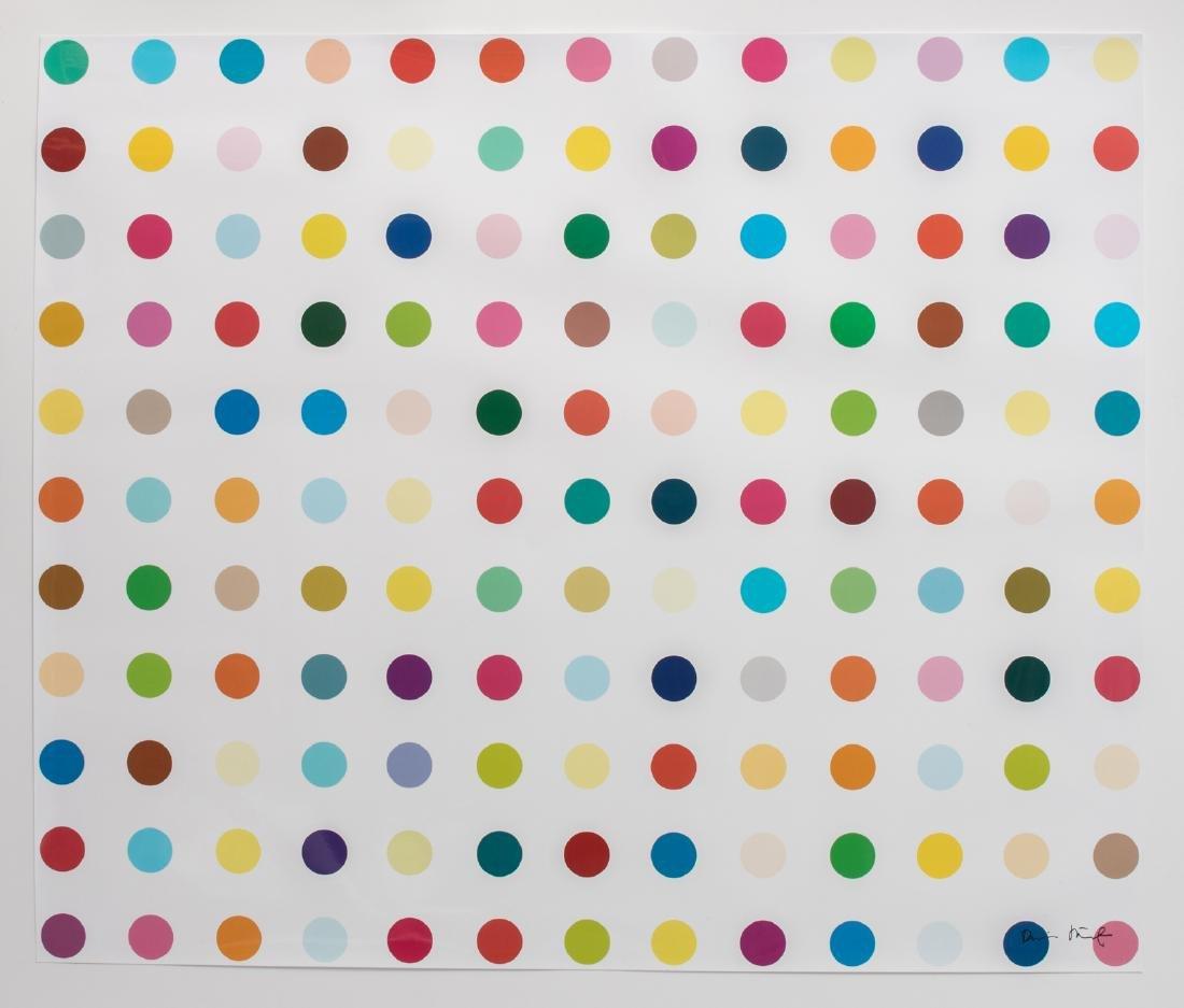 Hirst D., no title, industrial silkscreen, no. 95/300,