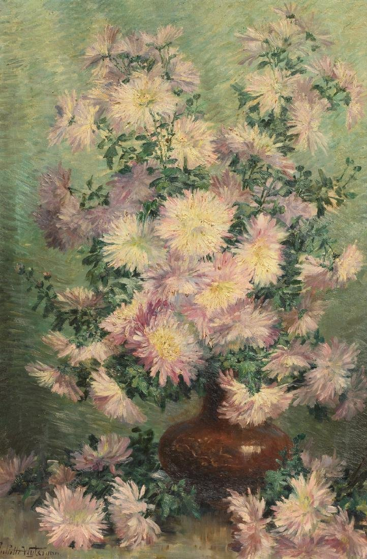 Wytsman J., a still life with flowers, oil on canvas,