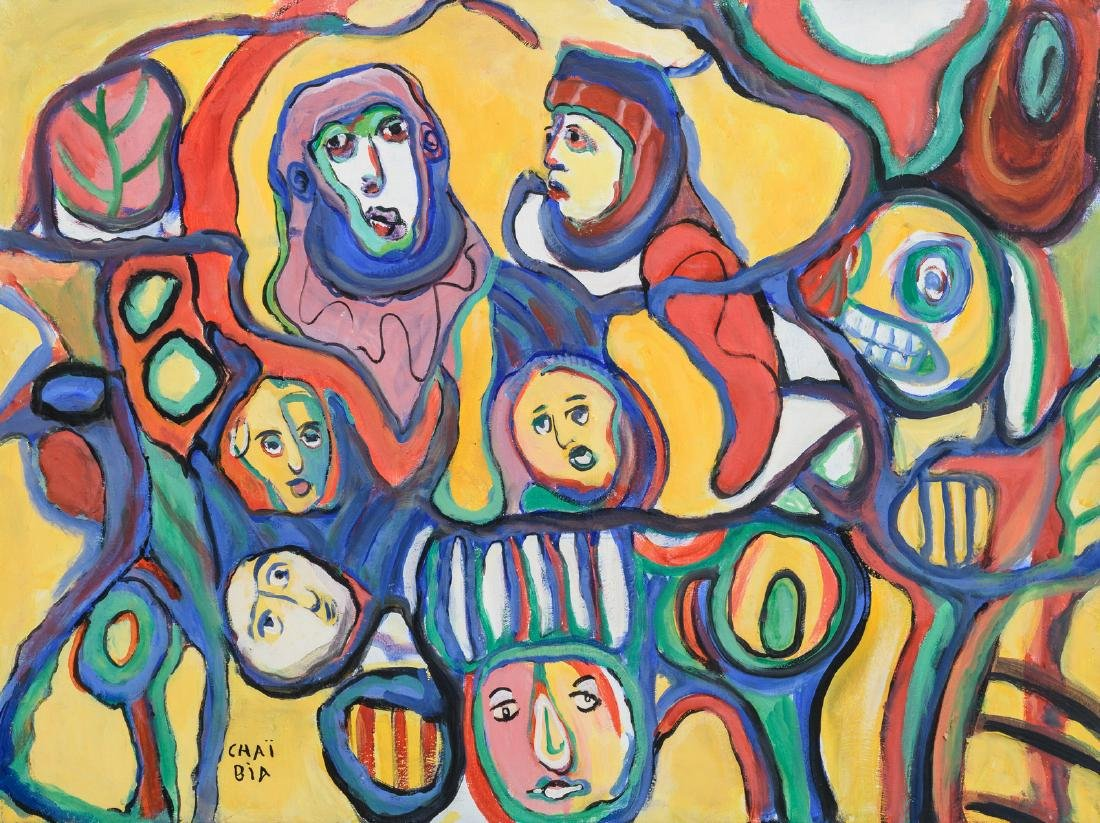 Chai Bia, no title, oil on canvas, 60 x 80 cm