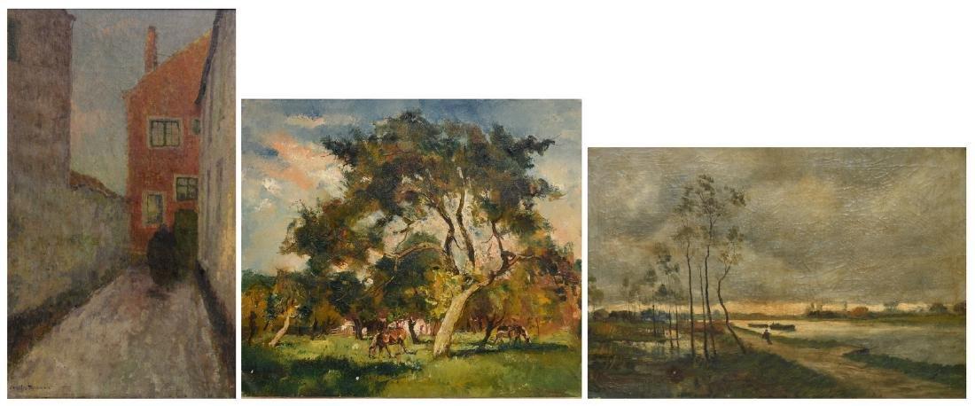 Boerewaard D., cattle in a landscape, oil on canvas;