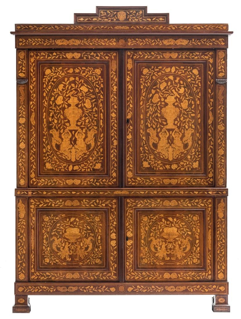 An exceptional second half of the 18thC Dutch mahogany