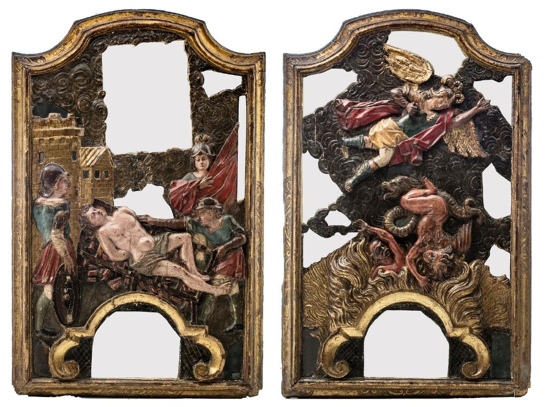 Two late 17th - early 18thC East or South European