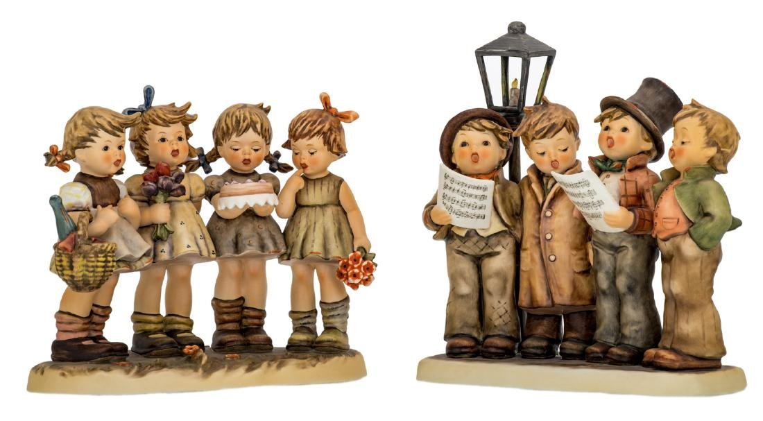Two Goebel and Hummel special edition figurines (1989