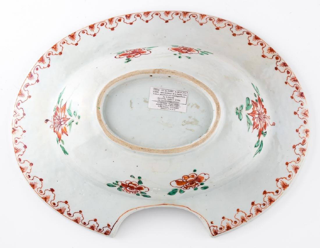 An 18thC Chinese famille verte export porcelain - 2