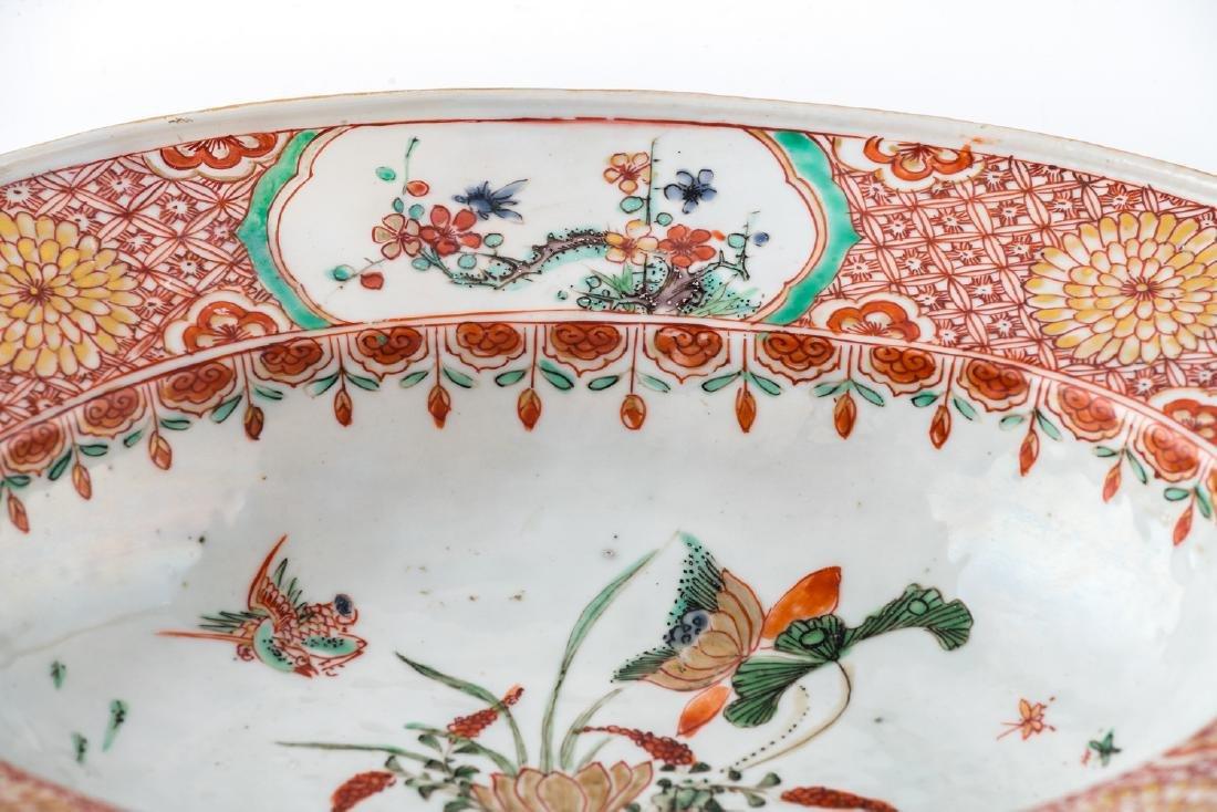 An 18thC Chinese famille verte export porcelain - 3