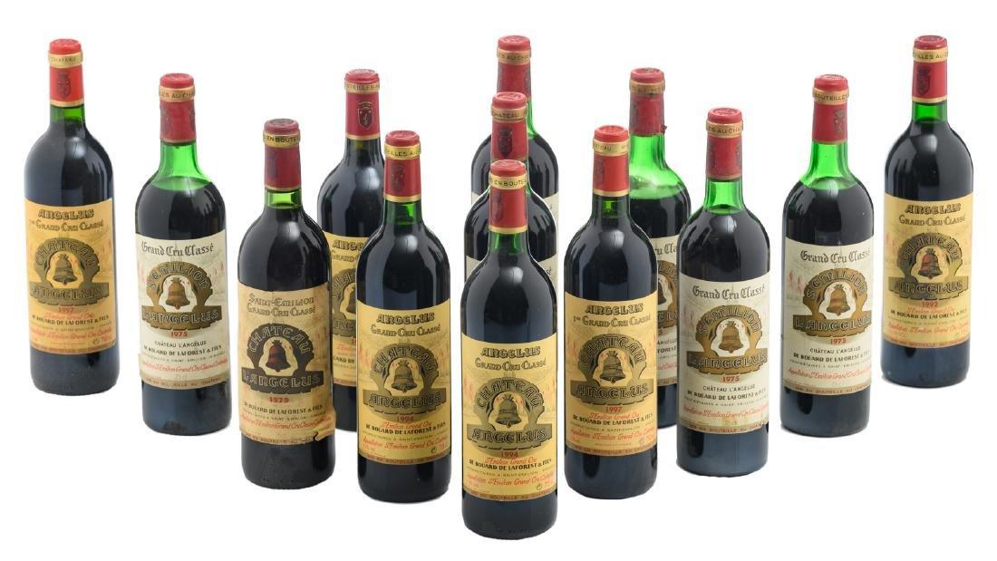 Thirteen bottles Chateau l'Angelus, St.-Emilion, Grand