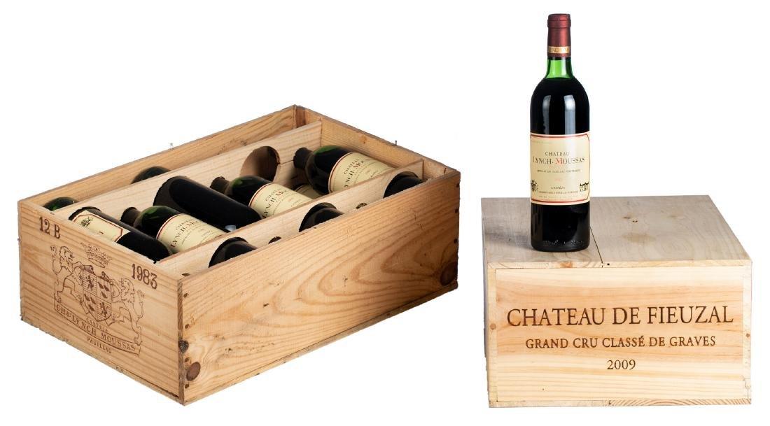 Twelve bottles Chateau Lynch-Moussas, Pauillac, Grand