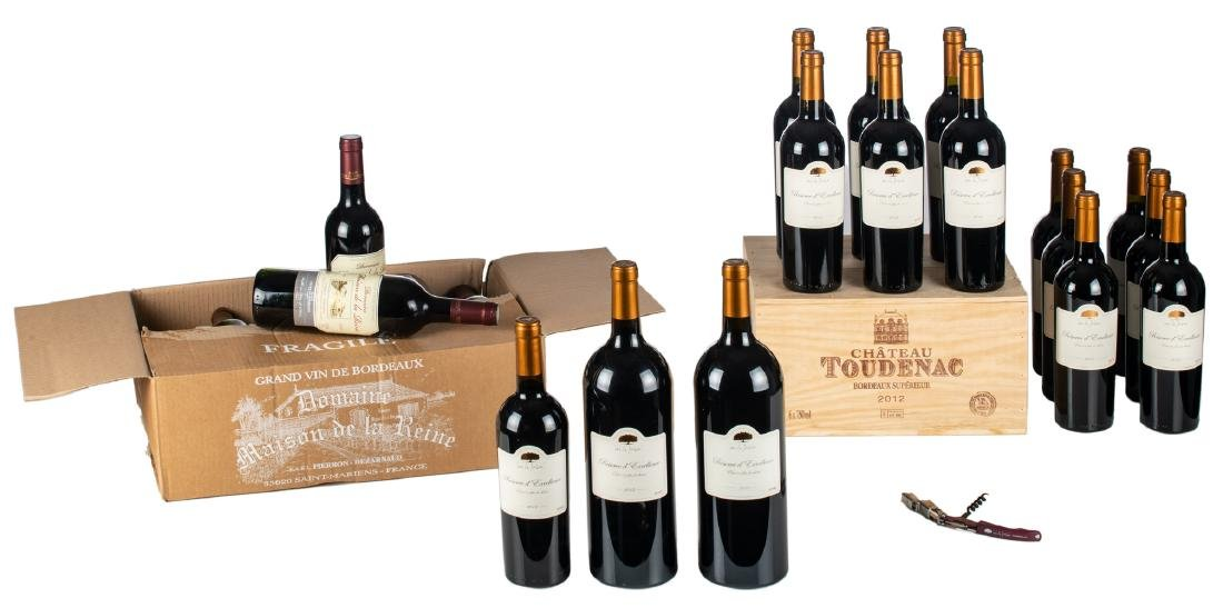 Thirteen bottles and two magnums Domaine de la Jasse