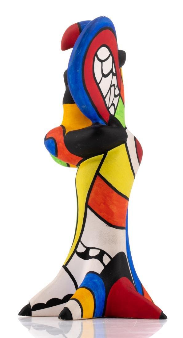 Niki De Saint Phalle, 'L'oiseau Amoureux', painted - 3