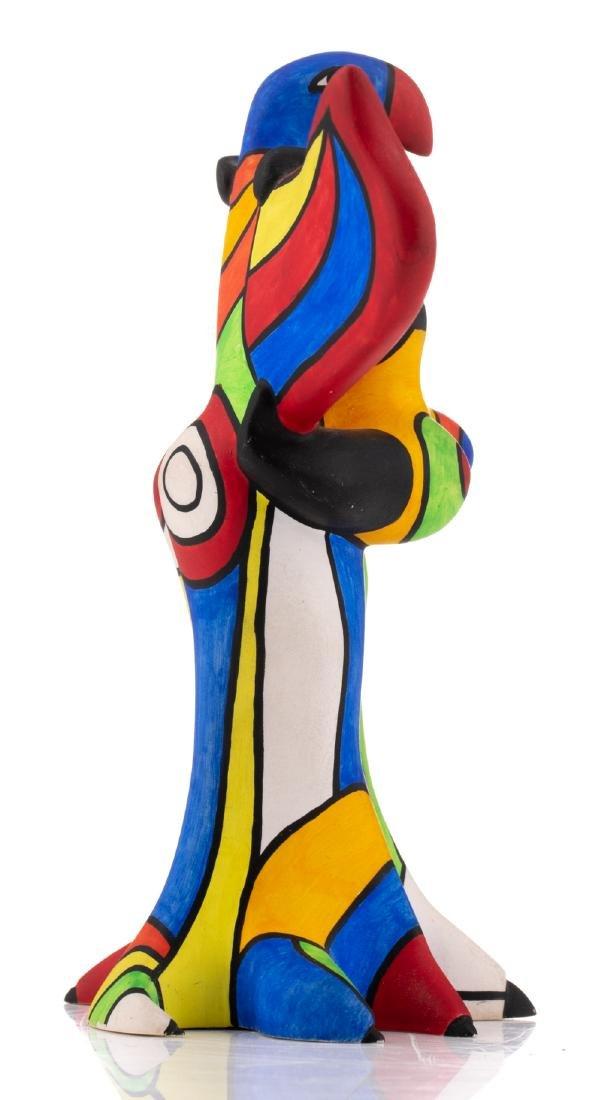 Niki De Saint Phalle, 'L'oiseau Amoureux', painted - 5