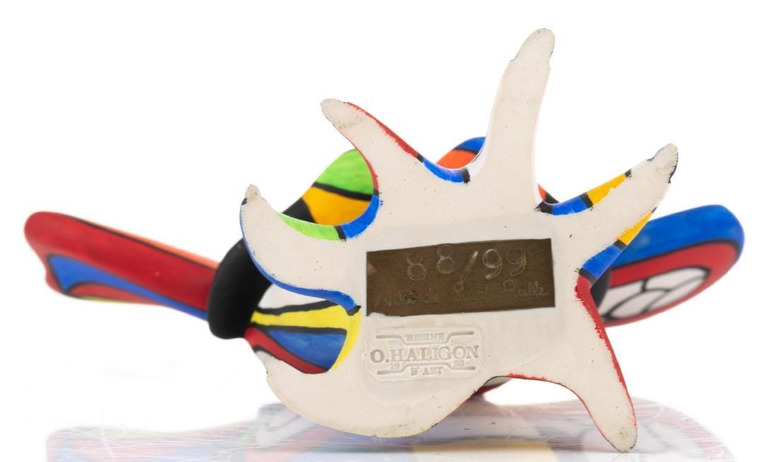 Niki De Saint Phalle, 'L'oiseau Amoureux', painted - 7