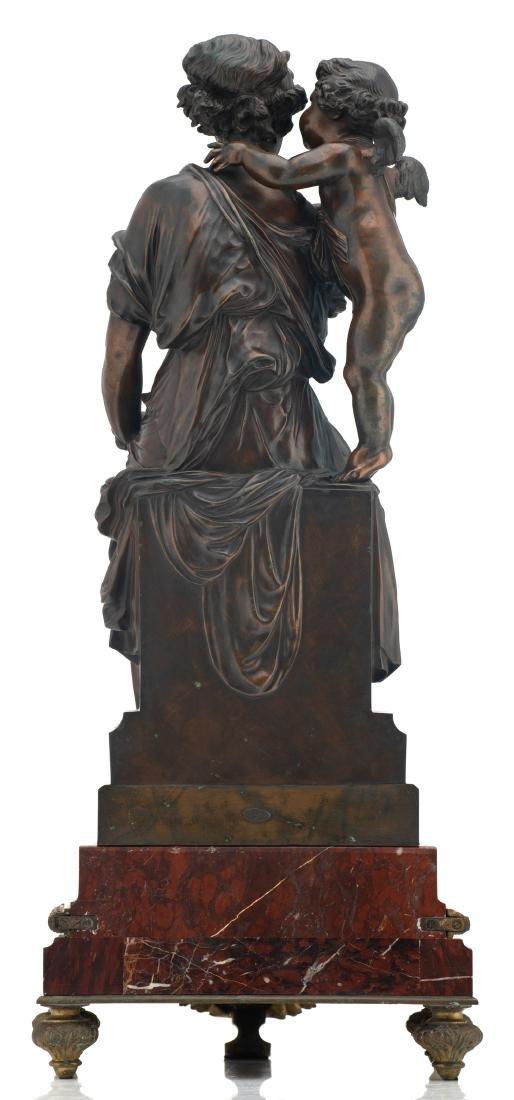 Van Rasbourgh J., 'Cupid as a mentor', patinated - 4