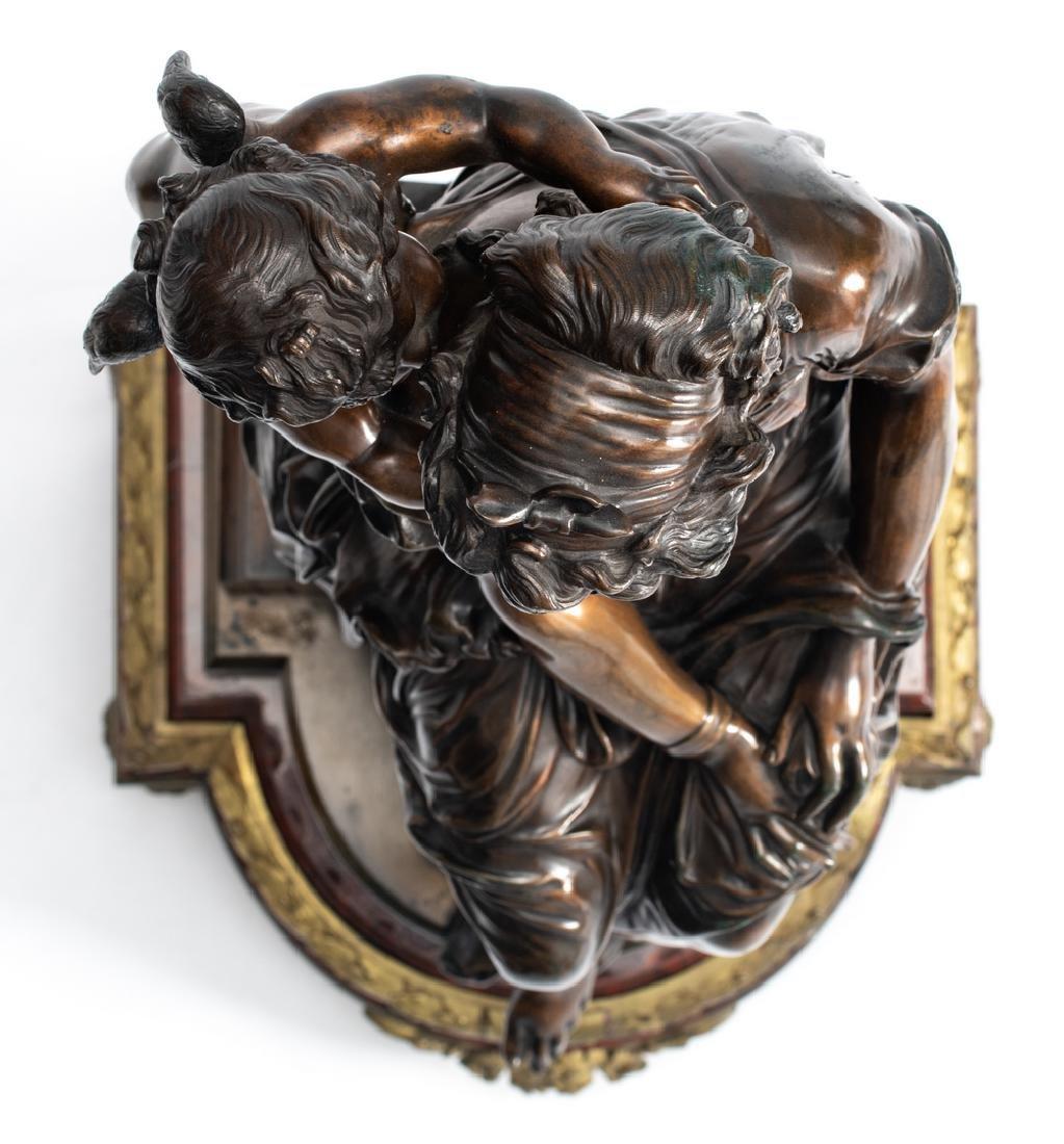 Van Rasbourgh J., 'Cupid as a mentor', patinated - 6