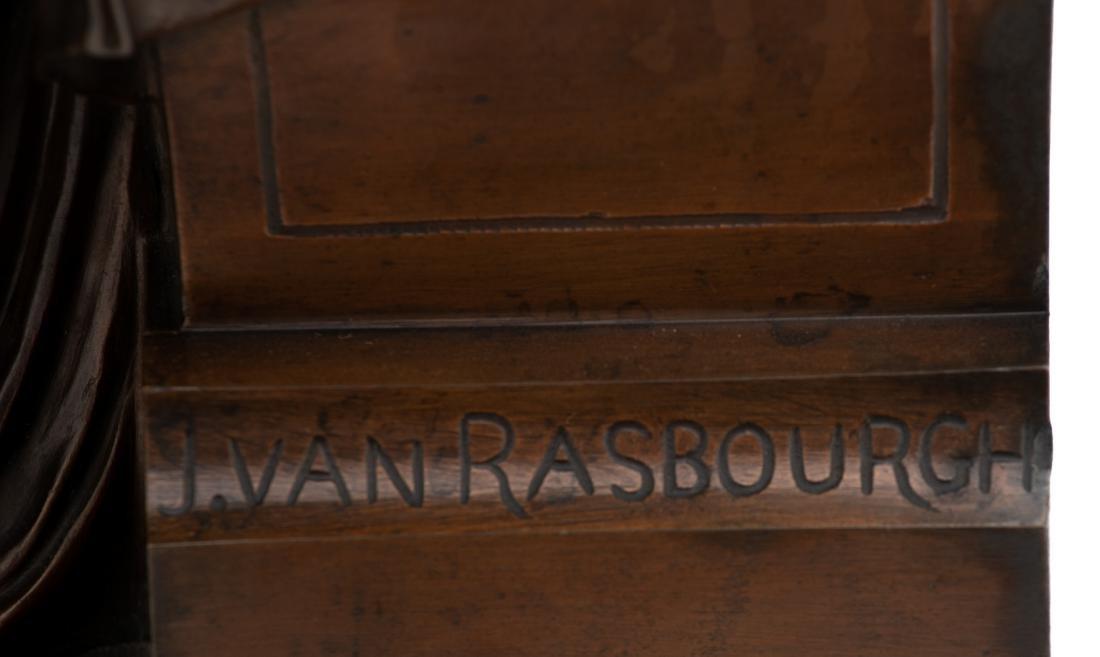 Van Rasbourgh J., 'Cupid as a mentor', patinated - 9
