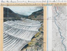 Christo, 'Over the River 1997 (Project for Arkansas