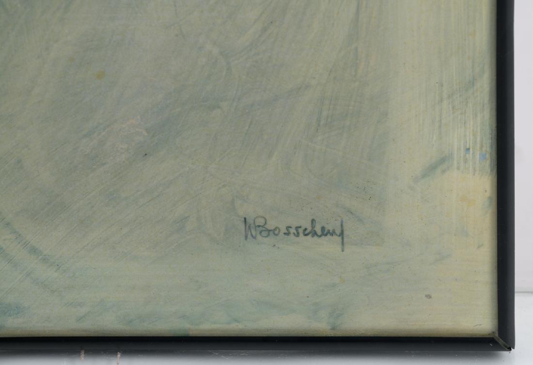 Bosschem W., 'Zonnegod I' and 'Zonnegod II', acrylic - 6