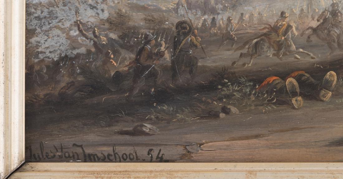 (Van Imschoot J.), an escaping cavalry horse in the - 5