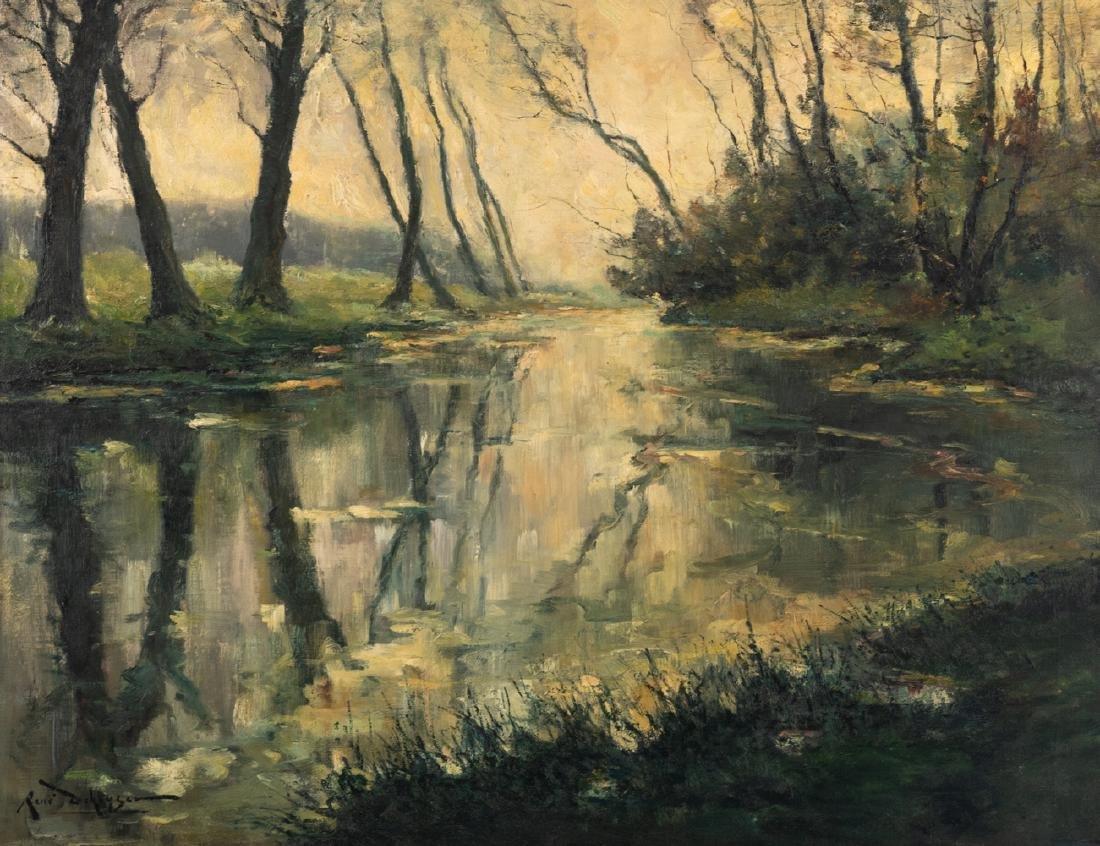 De Keyser R., 'La rivière la Dyle a Héverlé' (a view on